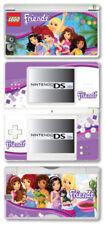 Placas frontales y etiquetas multicolor de vinilo para Nintendo DS para consolas y videojuegos