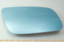 FOR AUDI A6 1999~2004 BLUE TINTED MIRROR GLASS BASE HEATED PASSENGER SIDE -RIGHT