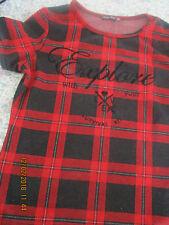 Shirt  Bershka   152   rot/schwarz