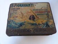F.Fioravanti  Port Said  , boite a cigarette ancienne , egypte (cpl13)