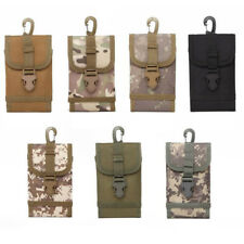 Universal Camo Bag For Mobile Phone Belt Loop Hook Case Cover Pouch Holster