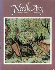 Vintage NEEDLE ARTS Embroidery Guild Magazine 1985 Volume XVI #3 Samplers