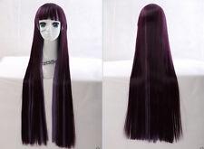 hmz-73 Púrpura Violeta MIX 85cm Harajuku Lolita Cosplay Peluca Anime