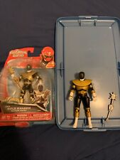 Used Bandai Power Rangers Super Legends Collectible Gold Zeo Ranger 5? & 6? Figs