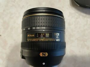 Nikon AF-S 16-80mm f 2.8-4E Nikkor DX ED VR Wide Zoom Digital Camera Lens MINT