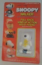 Vintage Peanuts Snoopy Aviva Pull Back Wind Up Walker New