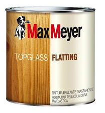 MAX MEYER TOPGLASS FLATTING A SOLVENTE Satinato finitura brillante legno