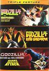 New Godzilla: vs. Mothra, vs. King Ghidora & Giant Monsters Attack (DVD)