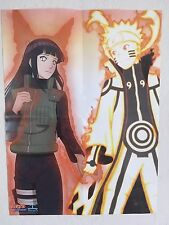 Omakase Exclusive Naruto Hinata Couple Nine Tailed Cloak POSTER Shippuden