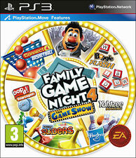 Hasbro Family Game Night 4 The Game Show PS3 *in Excellent Condition*