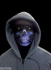 Azul Segador Sombrío Halloween Novedad Máscara de Lycra Disfraz