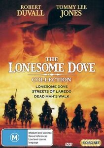 Lonesome Dove - The Complete Collection (DVD, 2009, 6-Disc Set)