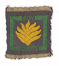 1940's UNITED KINGDOM SCOUTS -  BRITISH SENIOR SCOUT FIREMAN Proficiency Badge