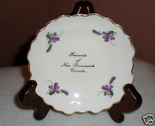 "Adderly Floral Tea Bag/Pin/Trinket Dish ""New Brunswick"" Bone China - England"