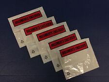 5000 A6 / C6 documento stampato racchiusa Portafogli / Buste con libera CONSEGNA 24H