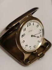 8 DAYS - CONCORD WATCH seltene 8 TAGE Uhr STERLING Silber Etui um 1900 !!!!