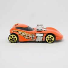 2000 Hot Wheels Twin Mill II HW Mad Manix Orange Gold 5DOT Loose 1:64 Car