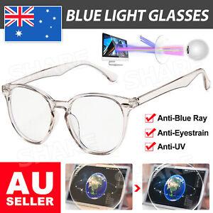Blue light Blocking Computer Gaming Glasses Spectacles Anti Eyestrain Eyewear