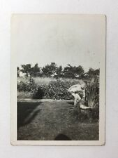 Vintage Real Photograph From Named Album Hucknall #AA - Skegness FishPond Garden