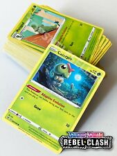 Common and Uncommon Set of Rebel Clash Pokemon Sword and Shield  NM