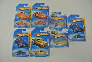 Hot Wheels Willys Coupe Ford Pickup Modified Rides HW Premiere Lot of 7 New