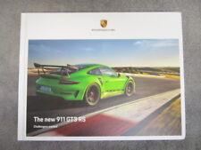 Porsche 911  991 GEN II GT3 RS Hardcover US Dealer Brochure/Book 116 pages NEW