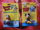 Vintage 1994 Zebco Mickey Mouse and Donald Duck Catch Em Bobber
