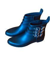 Loeffler Randall Nash Black Buckle Zip Boot - Size 9
