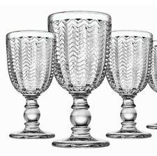 Godinger Carson Modern Vintage Red Wine Glasses, Set of 3