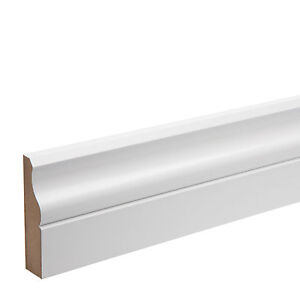 Door Architrave Boards - Pre-finished MDF - KOTA - Ogee- 68 x 18 x 4400mm