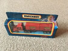 Matchbox Convoy CY18 Scania Truck And Double Container Trailer - Beefeater - Box