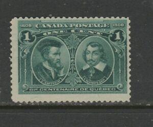 CANADA  #97 1 CENT CARTIER  MINT NO GUM