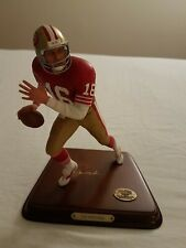 New ListingJoe Montana 49ers Danbury Mint Nfl All Star Figurine