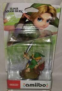 Young Link Amiibo Super Smash Bros. Series Box Damaged