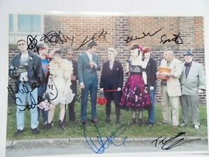 THIS IS ENGLAND , AUTOGRAPHED 12 X 8 PHOTOGRAPH SIGNED BY 8.