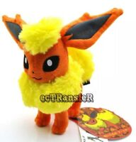 "Pokémon Flareon Eevee Evolution Plush Stuffed Animal Toy 7"" US Seller"
