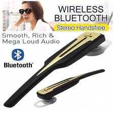 Premium Wireless 4.0 Stereo Bluetooth Hands Free Stereo Headset Black & Gold(As2