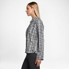 Hurley Wilson Small Women's Flannel Shirt Nike Style: GVS0001120-00A 100% Seller
