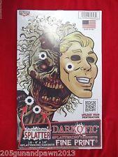 Darkotic Zombie Splattering Targets 10 x 6 - Ten Targets Per Pack