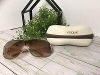 Authentic Women VOGUE DESIGNER Sunglasses Brown Len Tortoise VO3640-SB Bronze Fr