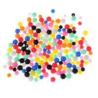 200pcs Multi-color Fishing Beads Lure Round Beads Fishing Tackle 6mm 8mm