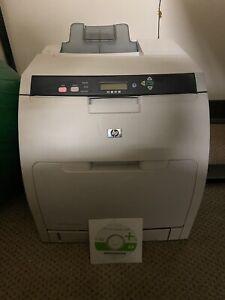 HP Color LaserJet 3800n Q5982A Laser Printer 9450 Page Count w/ Toners Mint Cond