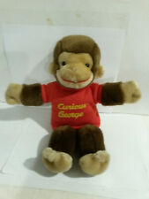 Curious George Gund 7589 dated 2001 puppet plush