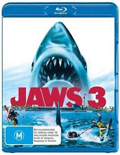 JAWS 3 3-D : NEW 2D/3D Blu-Ray
