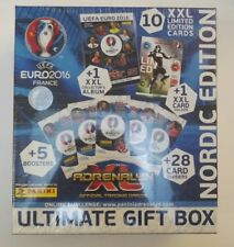 RARE SEALED PANINI ADRENALYN XL UEFA EURO 2016 ULTIMATE GIFT BOX NORDIC EDITION