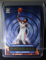Paul George 2019-20 Panini Donruss Optic T-Minus 3.2.1. #3 Basketball Card