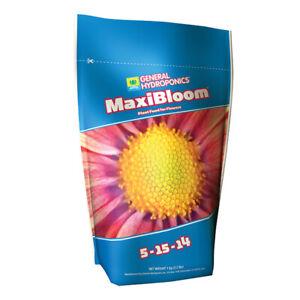 General Hydroponics - MaxiBloom - 2.2 LBS - 5-15-14 Free and Discreet Shipping!