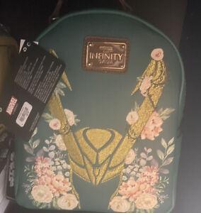 loki floral Loungefly Mini backpack