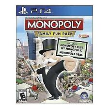 Monopoly Family Fun Pack PS4 Sony PlayStation 4 Brand New Factory Sealed