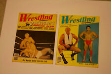 Lot of 20 Ring's Wrestling Magazines Vintage 1980, Pedro Morales, New Old Stock